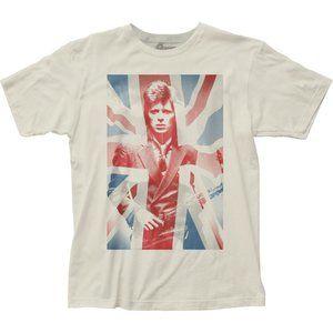 David Bowie – Union Jack Unisex Adult Tee Shirt